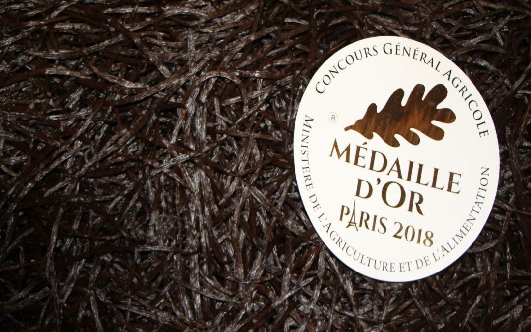Nouvelle Médaille d'or pour l'or noir de Sainte-Suzanne