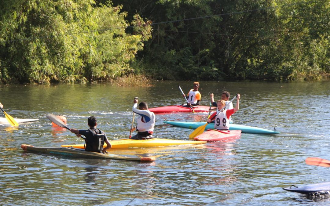 Journée de compétitions jeunes au Niagara Canoë Kayak Club