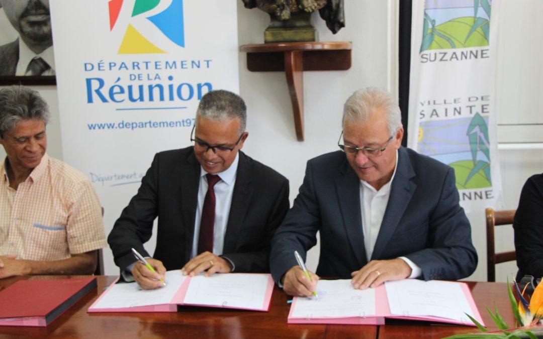 Signature du Pacte de Solidarité Territoriale