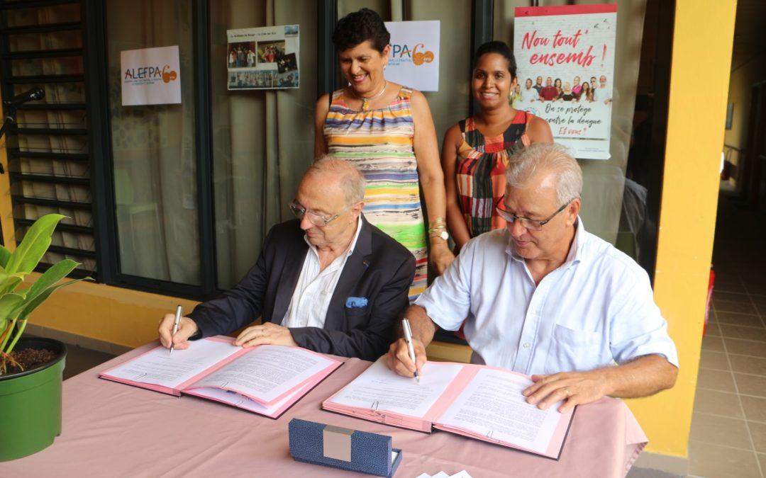 Signature convention CCAS et ALEFPA