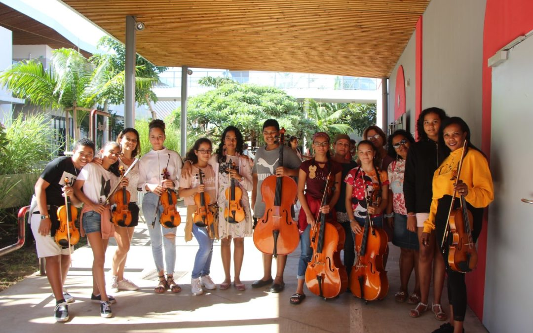 Envol musical des jeunes de Sainte-Suzanne