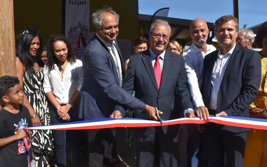 Inauguration du Groupe Scolaire Antoine Bertin