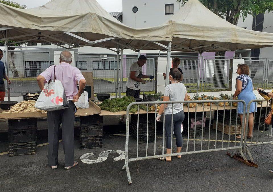COVID-19: Mise en place d'un marché de producteurs de Sainte-Suzanne (à partir du Mardi 31 Mars)