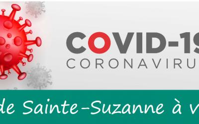 COVID-19: point d'étape sur la gestion de la crise à Sainte-Suzanne