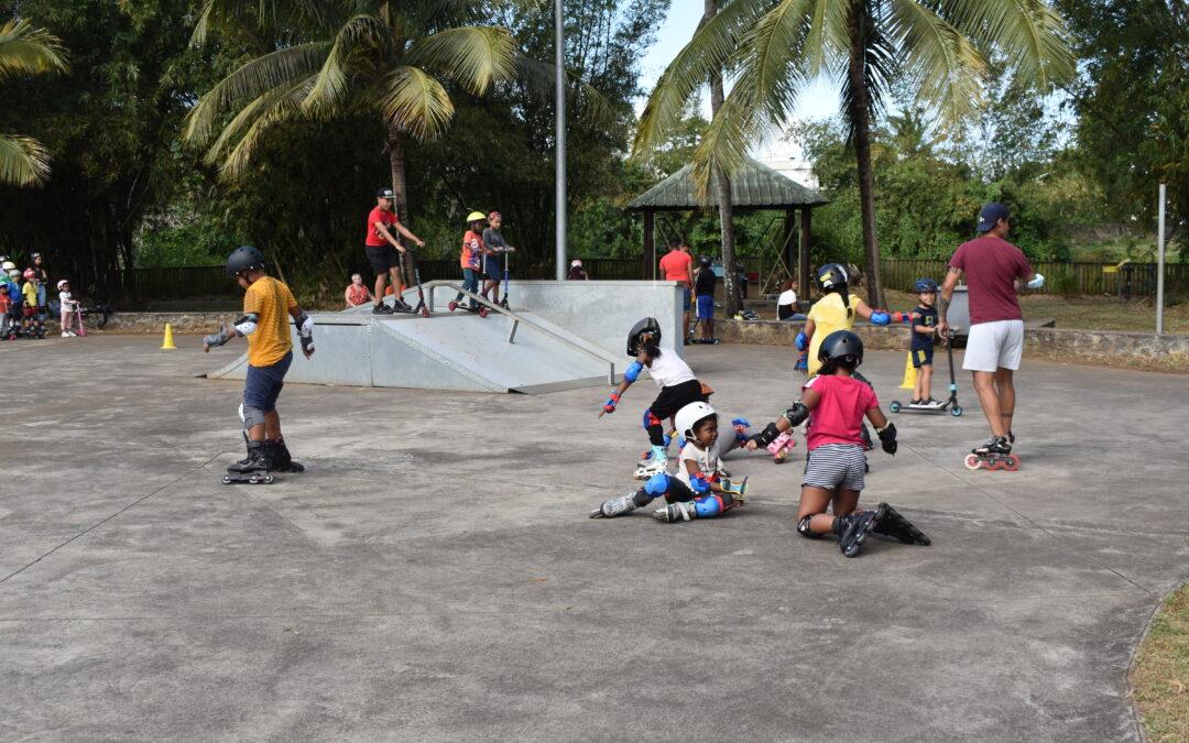 Sentez-vous sport – Initiation Roller au Skate Parc du Bocage