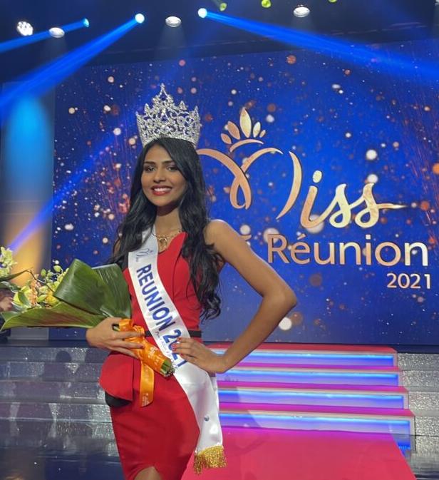 Félicitation à Miss Réunion
